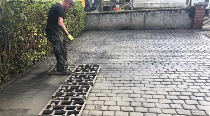 Imprint Concrete Driveway in Dublin