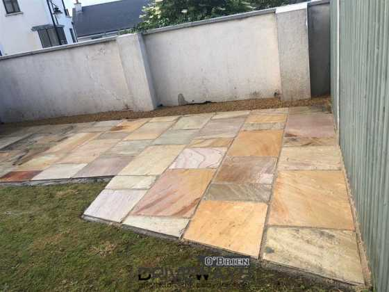Indian Sandstone Patio Malahide