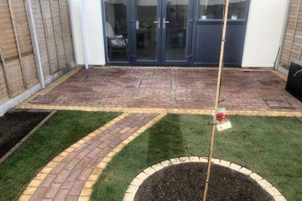 Patio and Garden Transformation in Malahide, Dublin