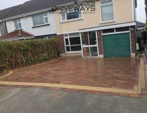 driveway paving laid in Dublin