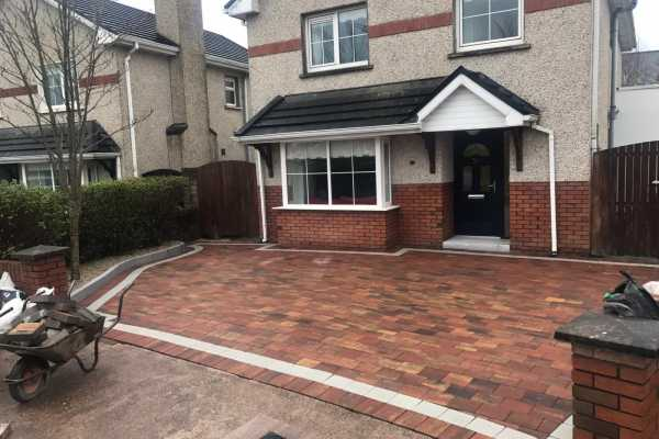 New Driveway Done With Paving Dublin