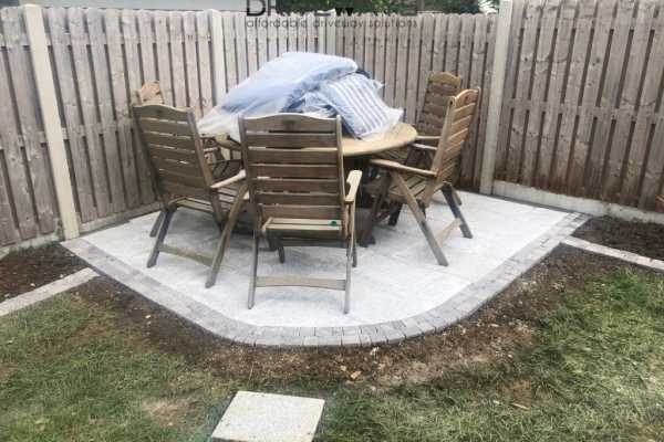New Patio Installation in Dundrum, Dublin
