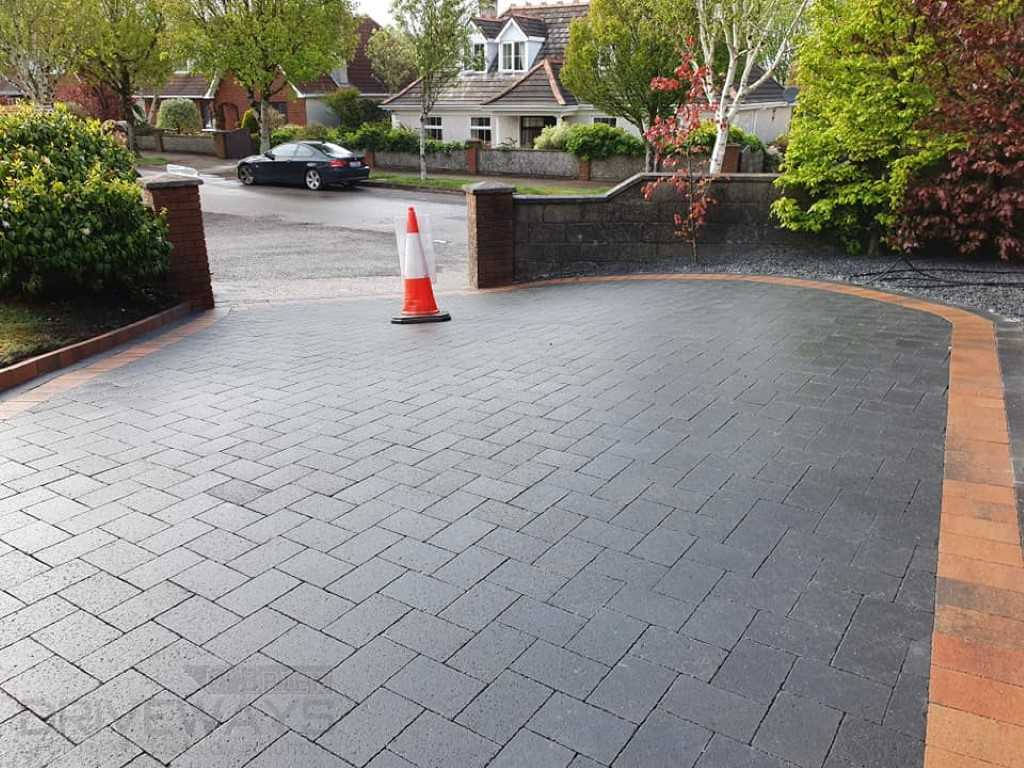 Driveway With Block Paving in Dublin