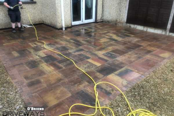 Patio Paving Installation in Dublin
