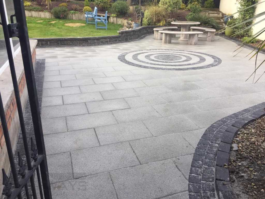 Indian Sandstone Patio in Dublin