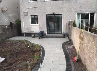 New Patio Installation in Dublin