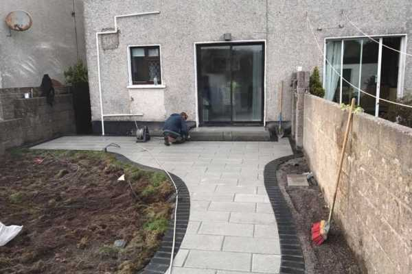 New Patio Laid in Dublin