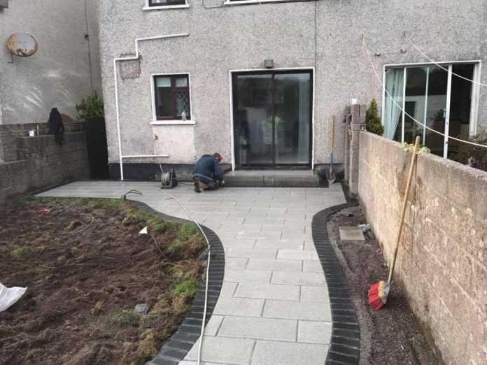New Patio Installation in Dublin