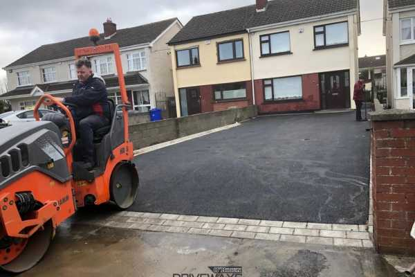 New Driveway Installation in Whitehall, Dublin